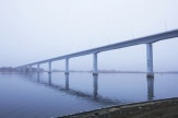 The bridge over the Don river in the city of Kalach-On-Don on the motorway of Volgograd – Rostov-On-Don