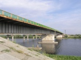The bridge over the Akhtuba river
